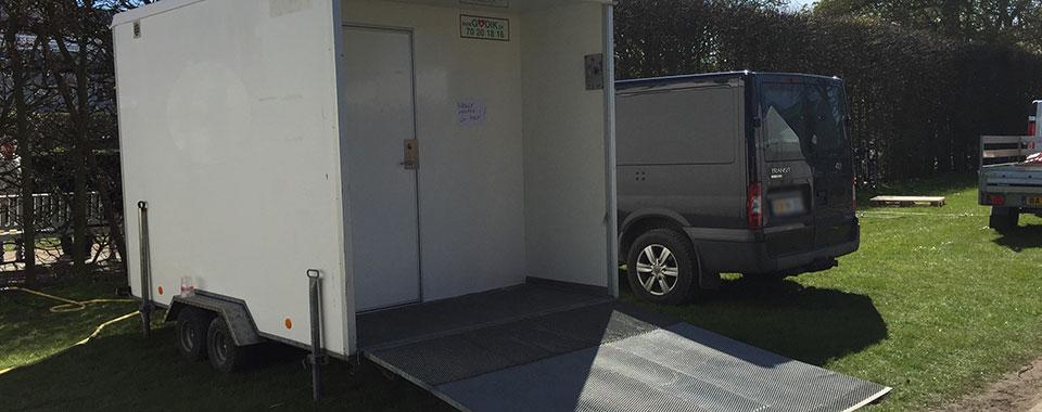 Toiletvogn Odense